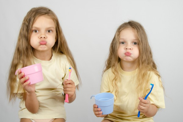 Правила чистки зубов для детей