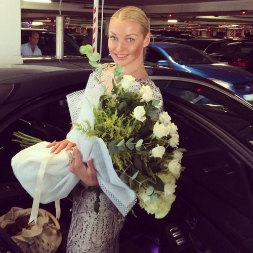 Анастасия Волочкова опровергла слухи о своем намерении стать депутатом Верховной Рады Украины