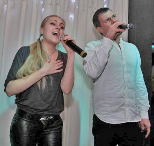 Вадим Лисица и певица ALYOSHA