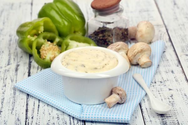 Рецепт                  Нежный грибной соус