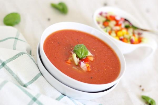 Гаспачо: рецепт с помидорами