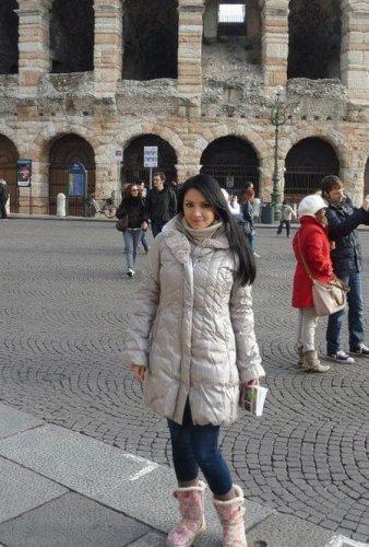 Алина Завальская отдохнула в Италии
