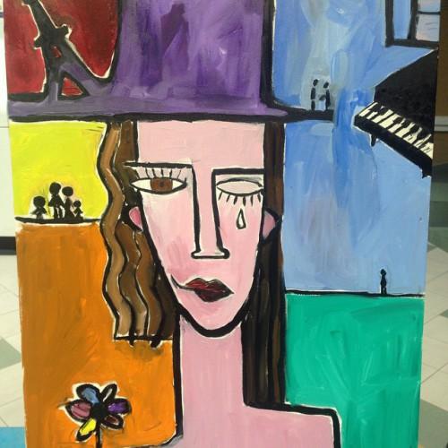 Джамала нарисовала картину, которую продадут с аукциона