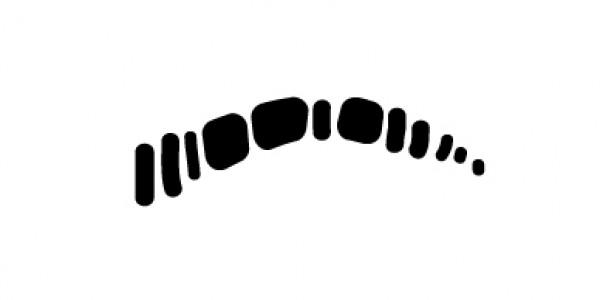 Короткие и редкие брови