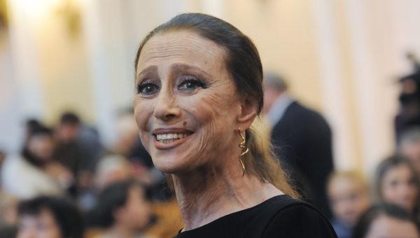Известная российская балерина Майя Плисецкая