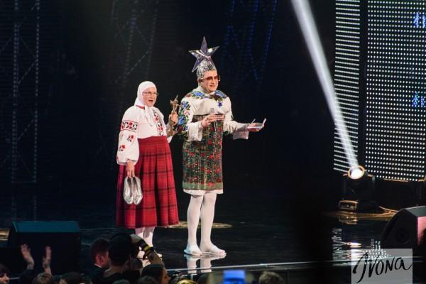 Верка Сердючка объявляла одну из номинаций премии