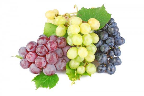 Если виноград употреблять в больших количествах, можно похудеть