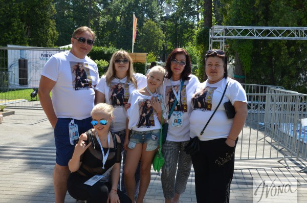 Виктория Петрик на Новой волне 2014