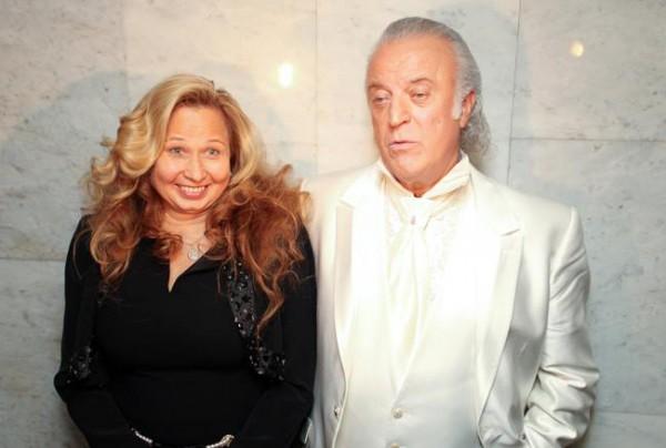 Илья Резник со своей женой