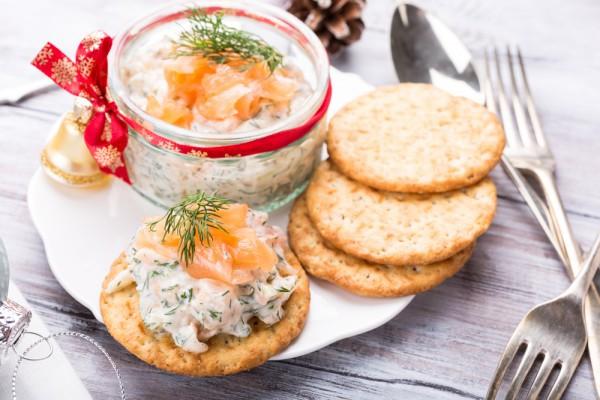 Рецепты на Новый год 2017 с фото: мусс из лосося