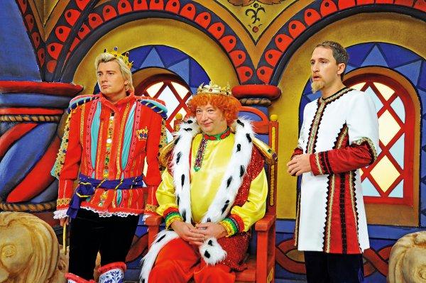 Во время съемок музыкальной сказки Морозко