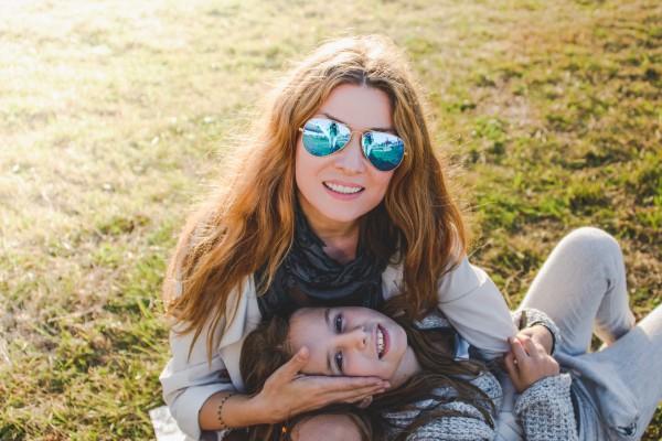 Телеведущая Жанна Бадоева с дочкой Лолитой