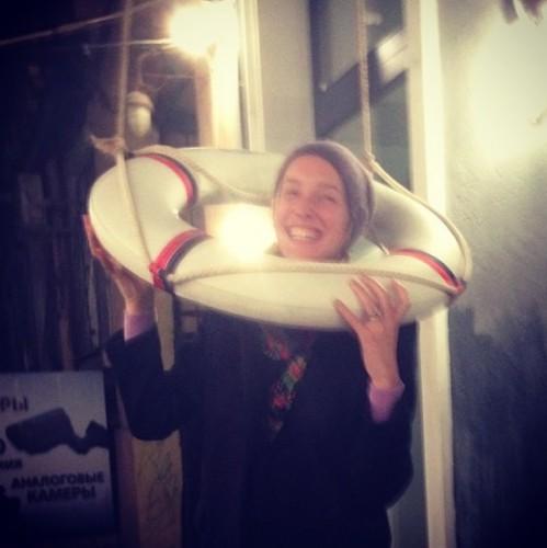 Катя Осадчая отдыхает в Одессе
