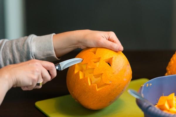 Тыква на Хэллоуин: фото