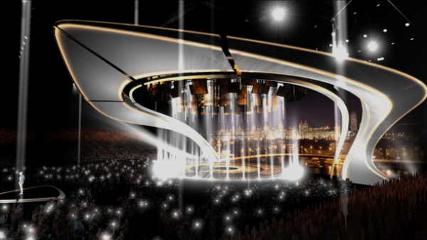 Организаторы «Евровидения-2017» показали, как будет выглядеть сцена вКиеве