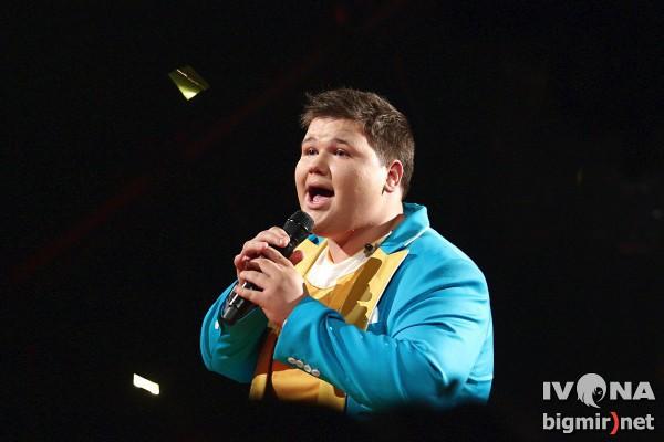 Александр Порядинский выступил в десятом эфире шоу Х-фактор