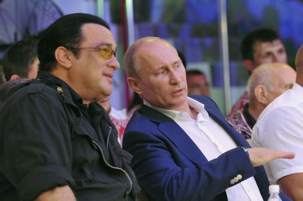 Стивен Сигал и Владимир Путин дружат