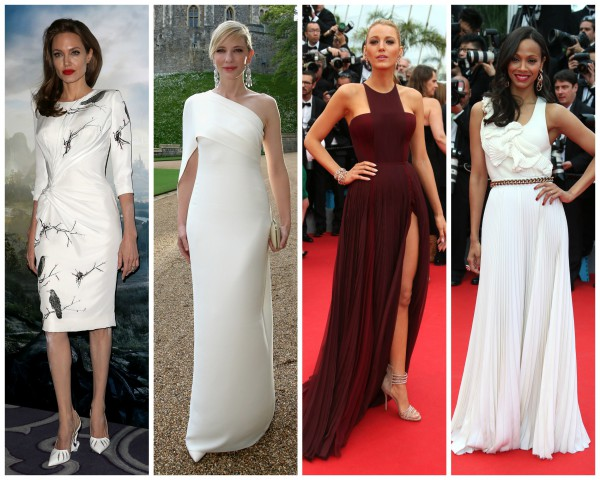 Среди самых стильных звезд недели - актрисы Анджелина Джоли, Кейт Бланшетт, Блейк Лайвли и Зои Салдана