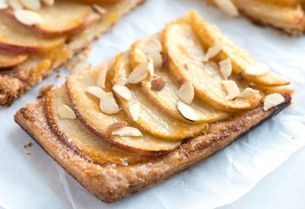 Рецепт                  Яблочный тарт с орехами