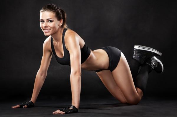 Как сжечь калории и привести мышцы в тонус  с помощью тренировки