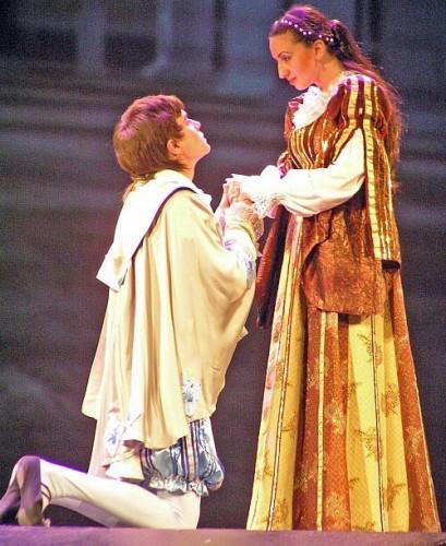 Влад Сытник в роли Ромео
