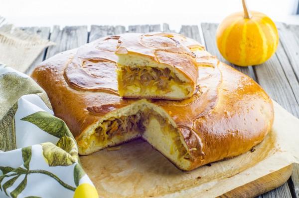 Пирог с капустой к Покрове