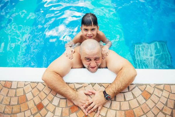 Егор Крутоголов с сыном фото