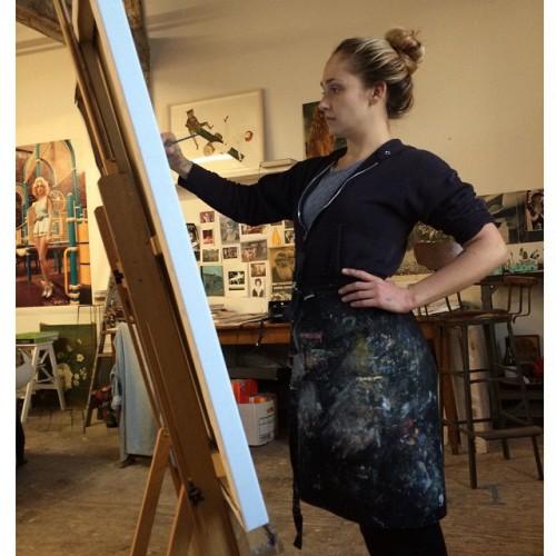 Джемима Керк пишет портрет беременной Лив Тайлер