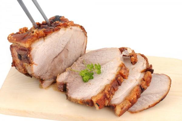 Рецепт                  Запеченная свинина: Рецепт приготовления