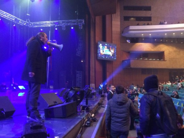 Мирошниченко на концерте Ани Лорак