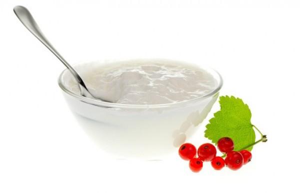 Основной состав йогурта - это пастеризованное молоко и особые культуры бактерий