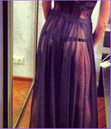 Агния Дитковските показала новое платье