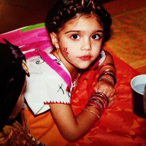 Дочка Мадонны в детстве