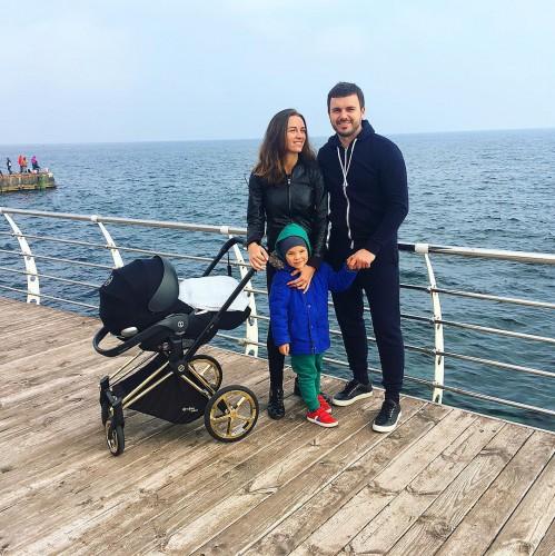 Кристина Решетник с семьей фото