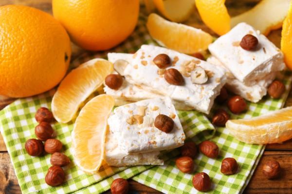 Десерт из белого шоколада