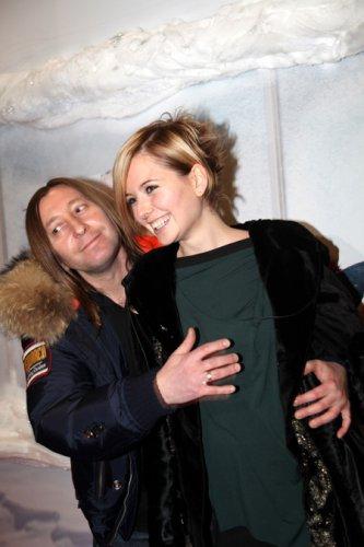 Шура из Би-2 с женой Лизой