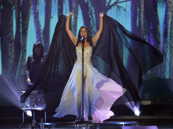 Евровидение 2015: Выступление Мелани Рене (Швейцария) во втором полуфинале