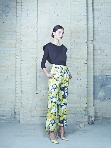 Look из коллекции Blooming  дизайнера Елены Ревы