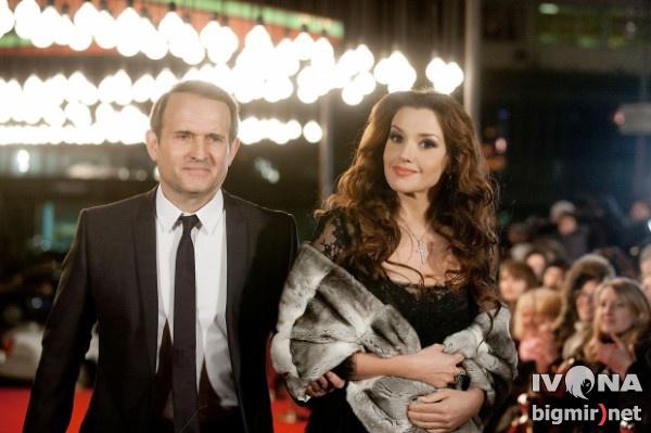 У Оксаны Марченко и Виктора Медведчука есть общая дочь Даша