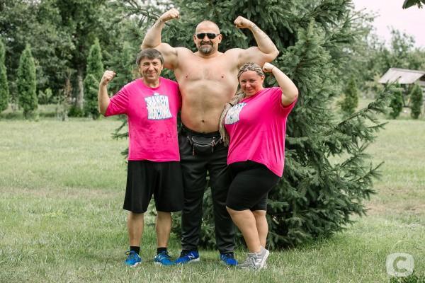 Василий Вирастюк и команда розовых