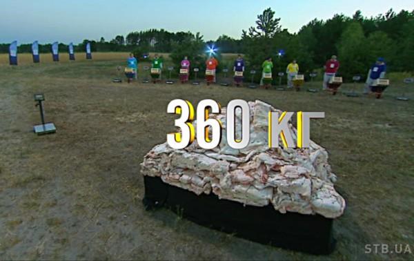 Зважені та щасливі 6 сезон: общий вес сала составлял 360 кг