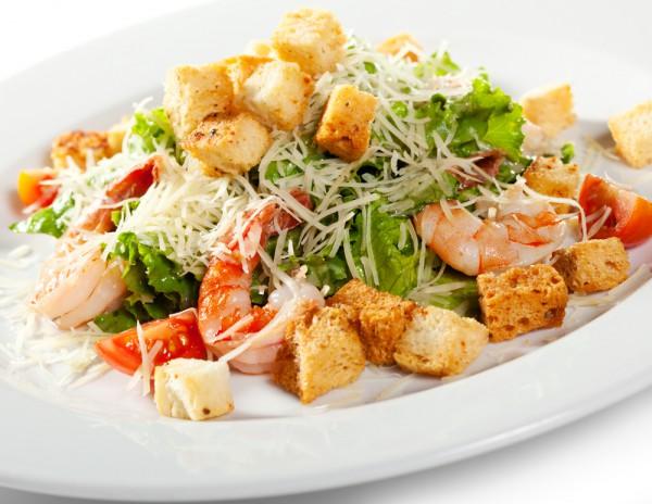 рецепты салатов с креветками и помидорами черри