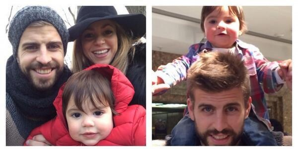 Шакира сняла в новом клипе сына и возлюбленного