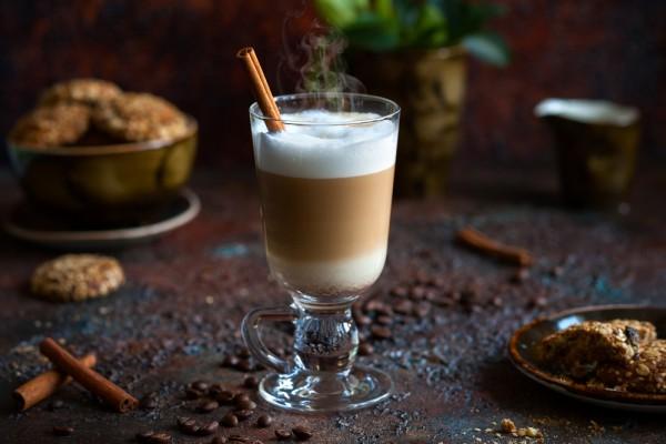 Осенний кофейный коктейль