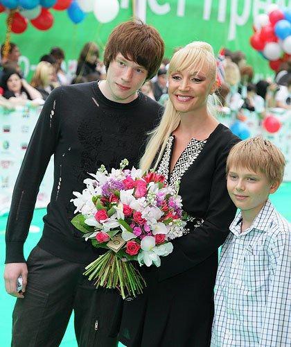 С сыновьями Никитой и Денни