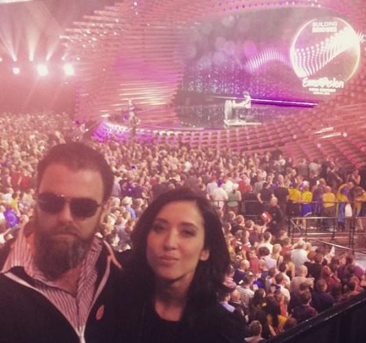 Анна Завальская на Евровидении