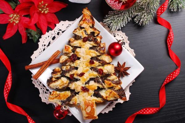 Пирог Новогодняя елочка