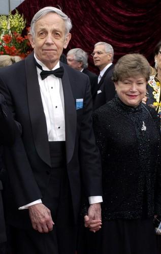 Джон Нэш вместе с женой