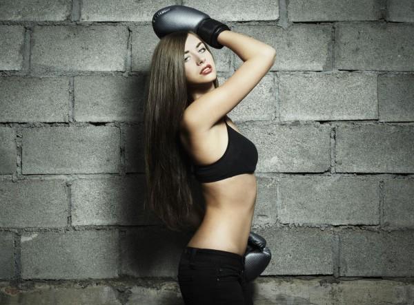 Бокс популярен и среди девушек