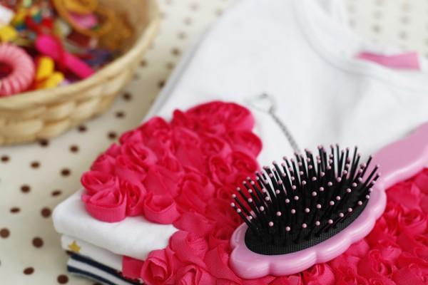 Яркие резинки для волос